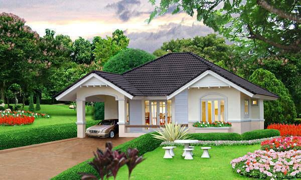 Curb Appeal Simple House Design Bungalow House Design Small House Exteriors