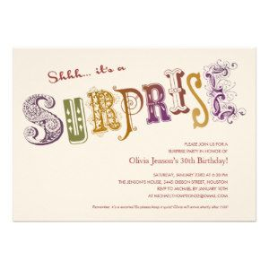 Top 25 surprise birthday party invitations for adults logos top 25 surprise birthday party invitations for adults filmwisefo Image collections