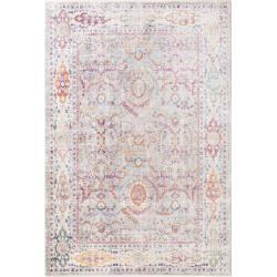 Photo of benuta viscose carpet Yuma Multicolor 240×320 cm – vintage carpet in used look benuta