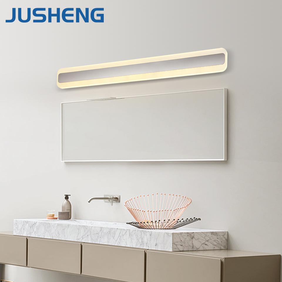 New Desige W Modern Acrylic Indoor Led Mirror Lamp Wall - Wall mounted led bathroom lights
