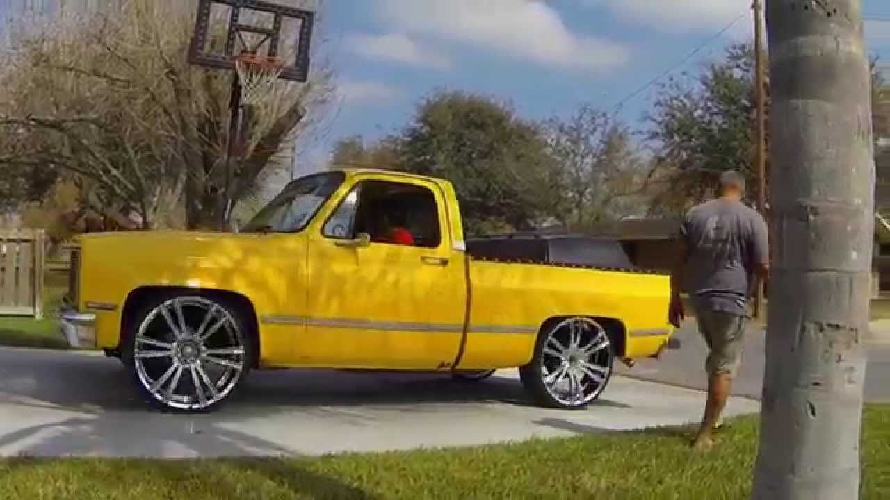 All Chevy 85 chevy short wide : 1985 Chevy C10 on 26's   c10's (2wd)   Pinterest