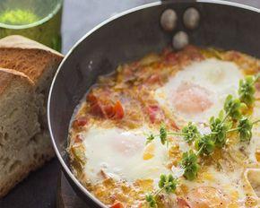 huevos al plato, te quedan riquísimos!