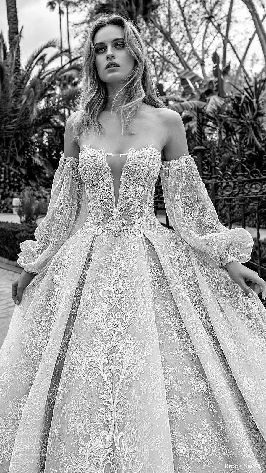 Ricca Sposa 2020 Wedding Dresses Dell Amor Couture Bridal Collection Wedding Inspirasi Fairy Tale Wedding Dress Ball Gown Wedding Dress Ball Gowns