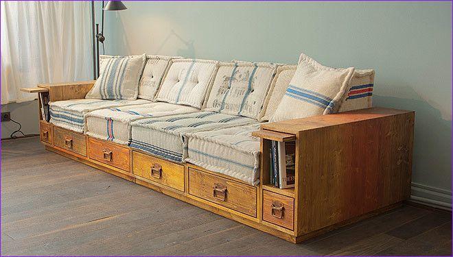 10 Akzeptabel Fotos Von Holz sofa Bett en 2020 | Muebles ...