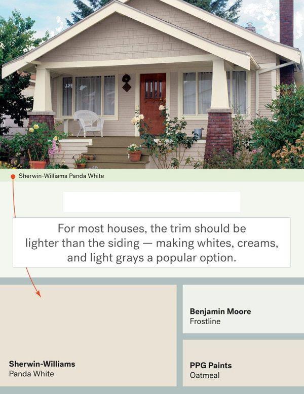 Best Exterior Paint Colors for Trim | Home Exterior | Pinterest ...