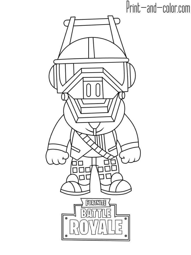 Fortnite Battle Royale Coloring Page Dj Yonder Star Coloring Pages Coloring Pages Coloring Pages For Boys