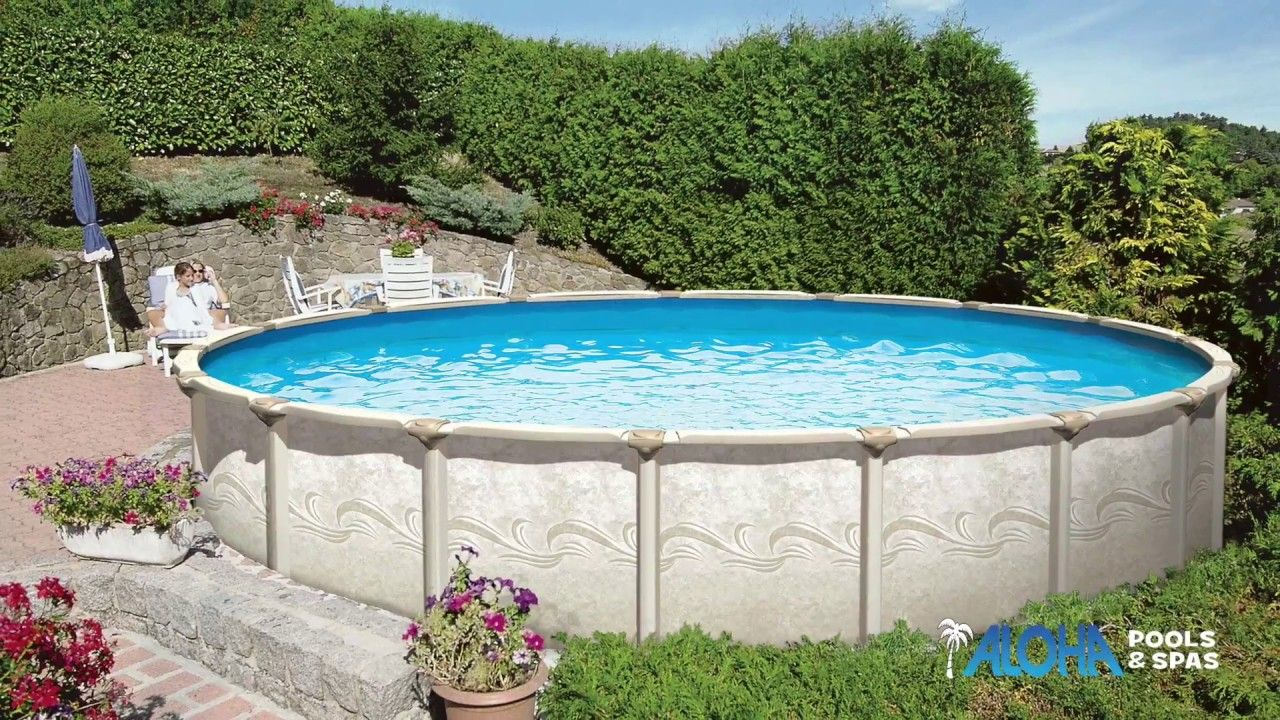 About Above Ground Pools Aloha Pools Spas Union City Pool Landscaping Above Ground Pool In Ground Pools