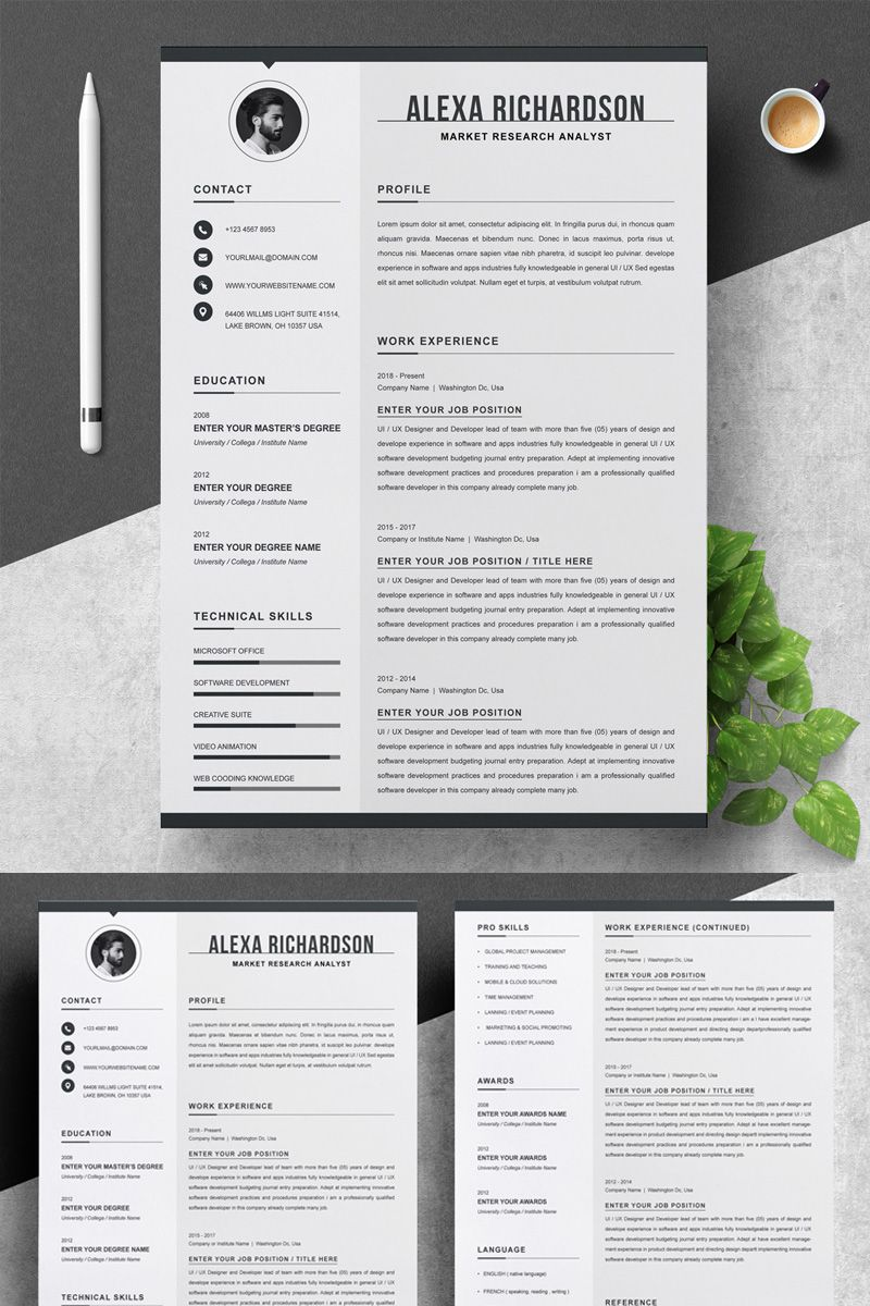 Alexa Resume Template 83026 Simple resume template