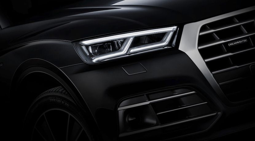 Audi Q5 2017 Más Teasers Antes De Su Debut En El Salón De París Audi Audi Q5 Mercedes Benz Logo