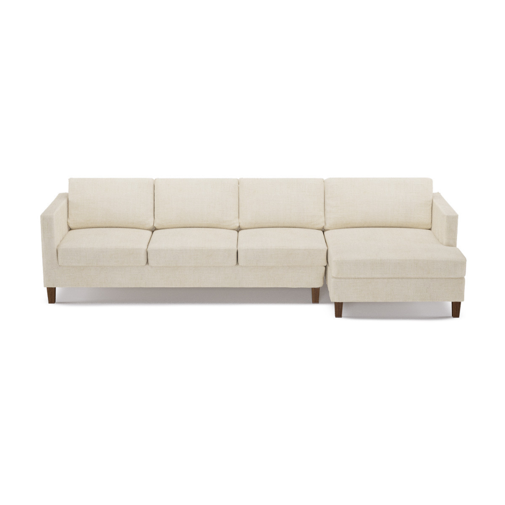 Mid Century Modern Sectional The Inside In 2020 Custom Sectional Sofa Mid Century Modern Sectional Upholstered Sofa