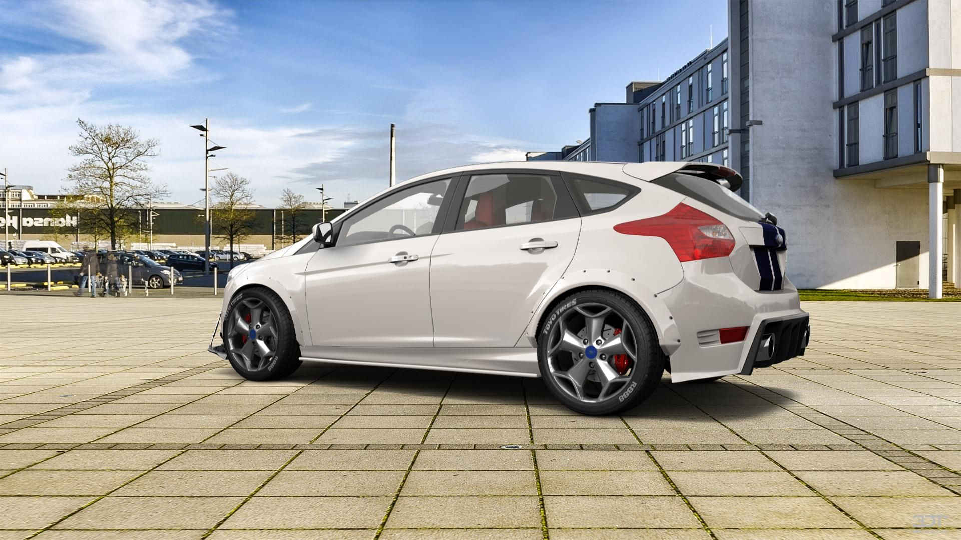 checkout my tuning ford focus 2011 at 3dtuning 3dtuning tuning in 2020 ford focus ford hatchback pinterest