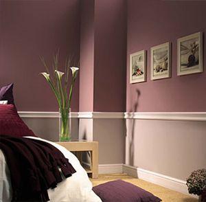 exklusiv-tapeten-idee | farbe, tapete & co. | pinterest ... - Farbige Wandgestaltung Beispiele