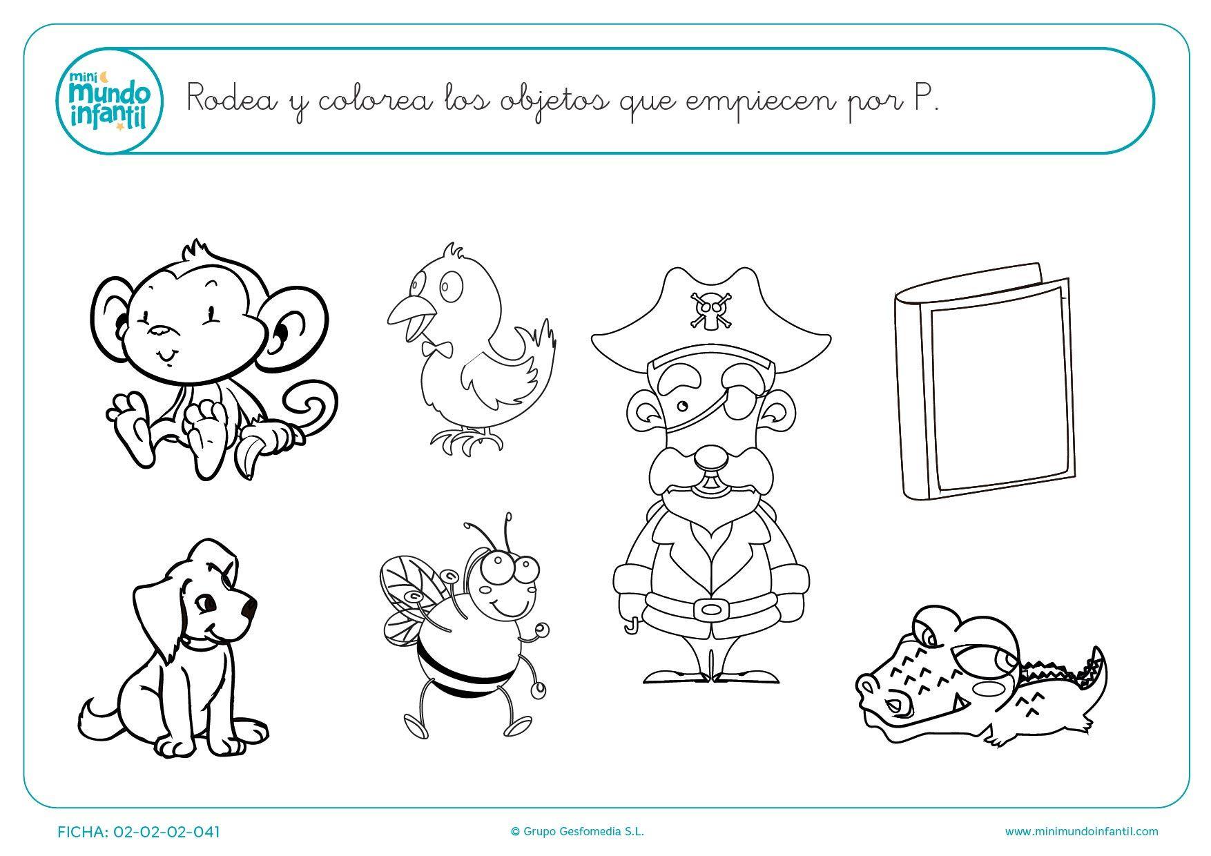 Dibujos Para Pintar Que Empiecen Con La Letra S Dibujos Leer Read