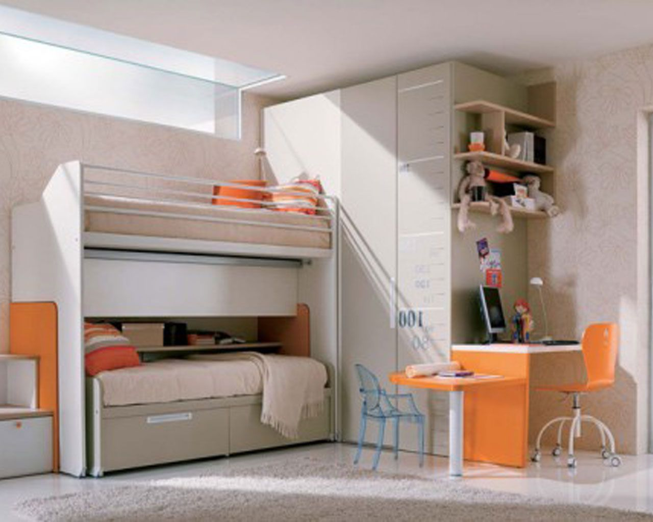 Teenage girl loft bed ideas  Pin by Mariana Wusiang on  Home Design Ideas  Pinterest