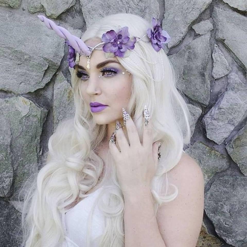 Magical unicorn look 🦄🌈 Unicorn headpiece, Costume