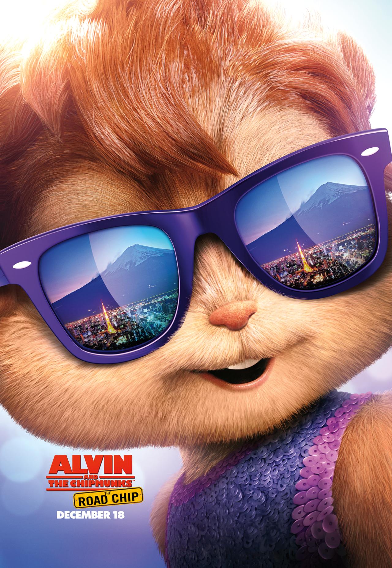 Alvin And The Chipmunks The Road Chip Comingsoon Net Ardillas Carteles De Cine Fondos De Comic