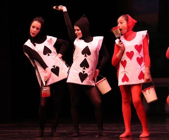 Alice In Wonderland Ballet Cards Suite Alice In Wonderland