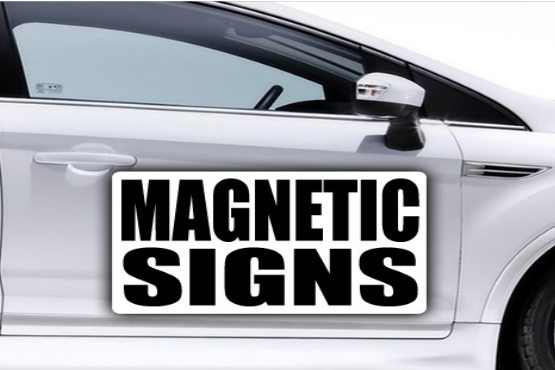 Design Custom Vehicle Magnetic Signs To Promote Your Business
