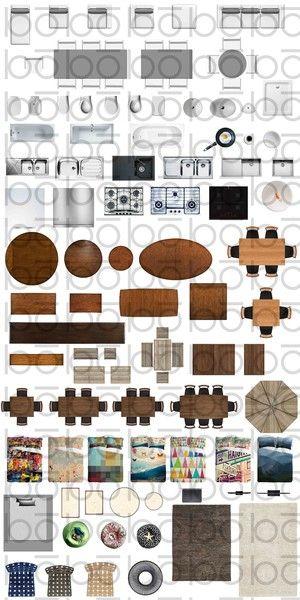 Texture Psd 2d Plan Furniture Top Your Pinterest Likes Pinterest
