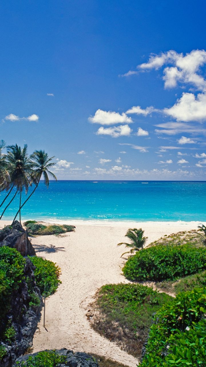 Tropical Island Beach wallpaper, Beautiful nature