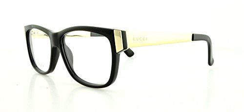 GUCCI Eyeglasses 3719 0Anw Black / Gold 53MM