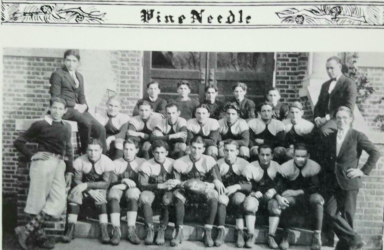 1926 lakewood piners football team photo source 1927