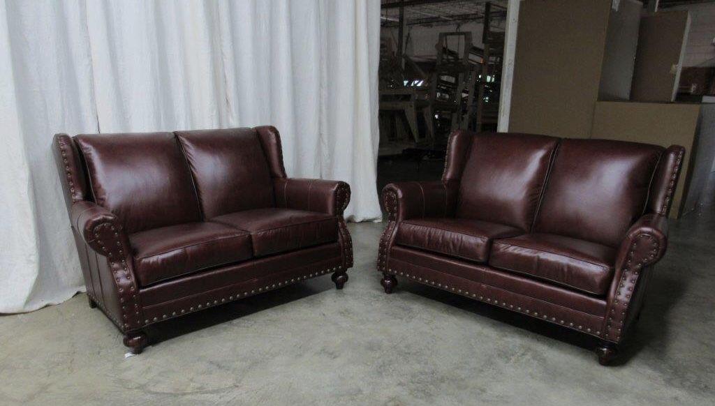 Wellington S Fine Leather Furniture Loveseats