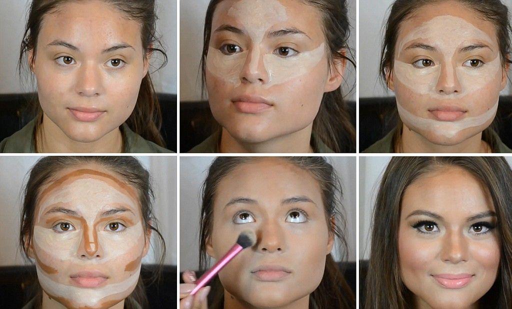 Видео уроки макияжа для лица и глаз