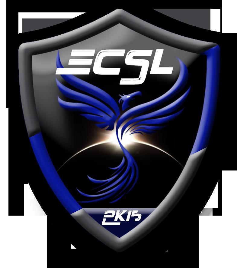 Logo crée pour la team ECSL de Counter Strike. Escudos