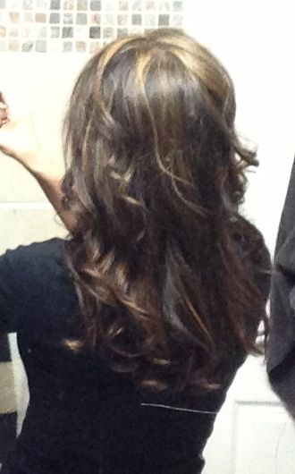 Caramel Highlights On Black Hair I Want This Hair Pinterest