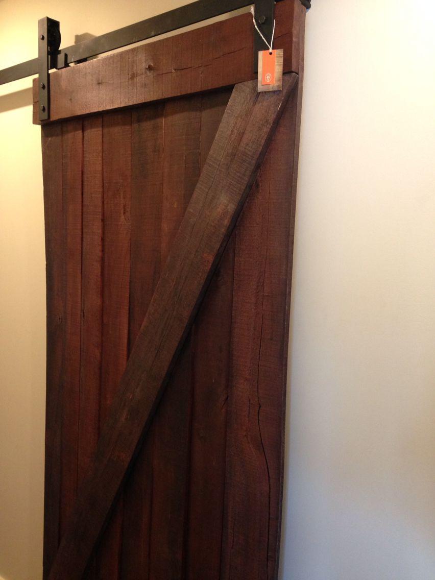 Red Sliding Barn Door red z sliding barn door. handmade from truly reclaimed wood! in