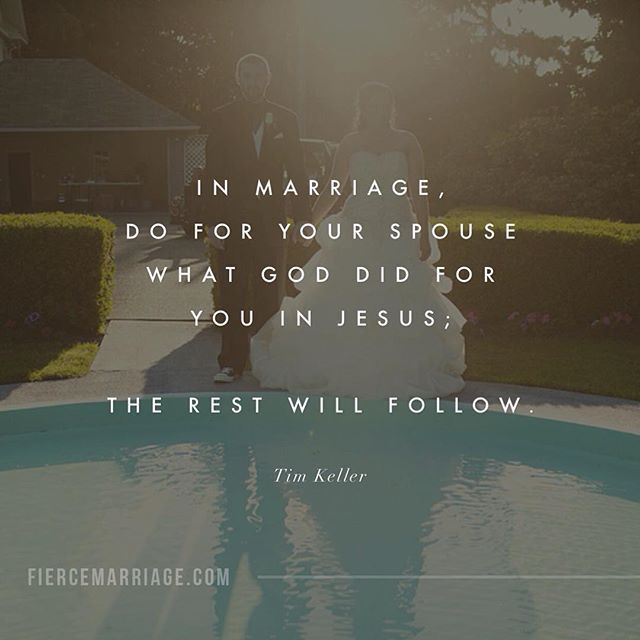 How can we possibly do that in marriage? Honestly, it's impossible on our own. We are far too self-centered and much too imperfect to love perfectly. That is why the gospel is absolutely essential for marriage. The light of the gospel, when shone on your marriage, will compel you love with the same love you've experienced in Christ. Seek Christ first in how you listen to your spouse, seek Christ first in how you respond to circumstances, and seek Christ first in how you extend grace.
