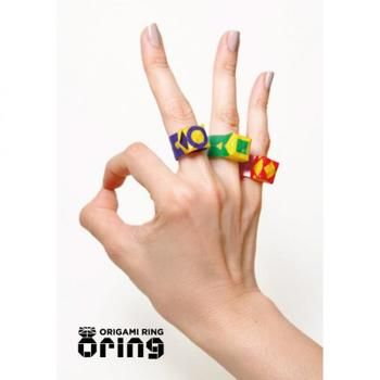 Oring - rings made out of Origami!