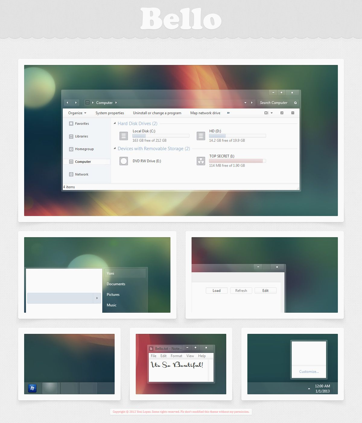 Bello by on deviantART Desktop