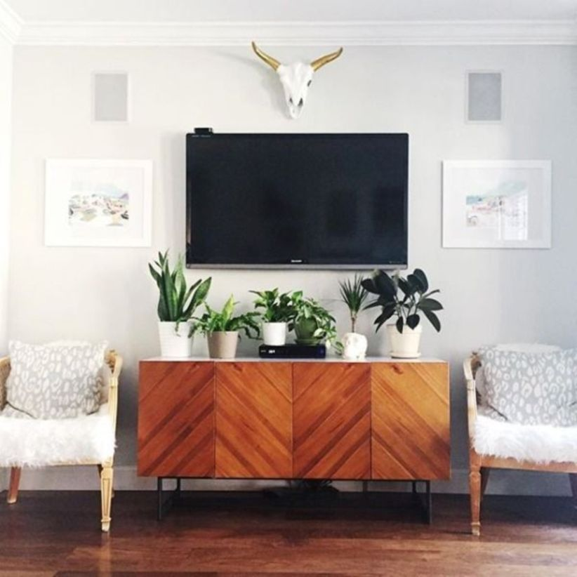 55 Modern Tv Stand Design Ideas For Small Living Room Apartment