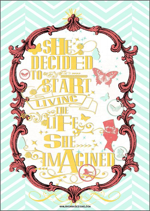 quotes created with #rhonnadesigns