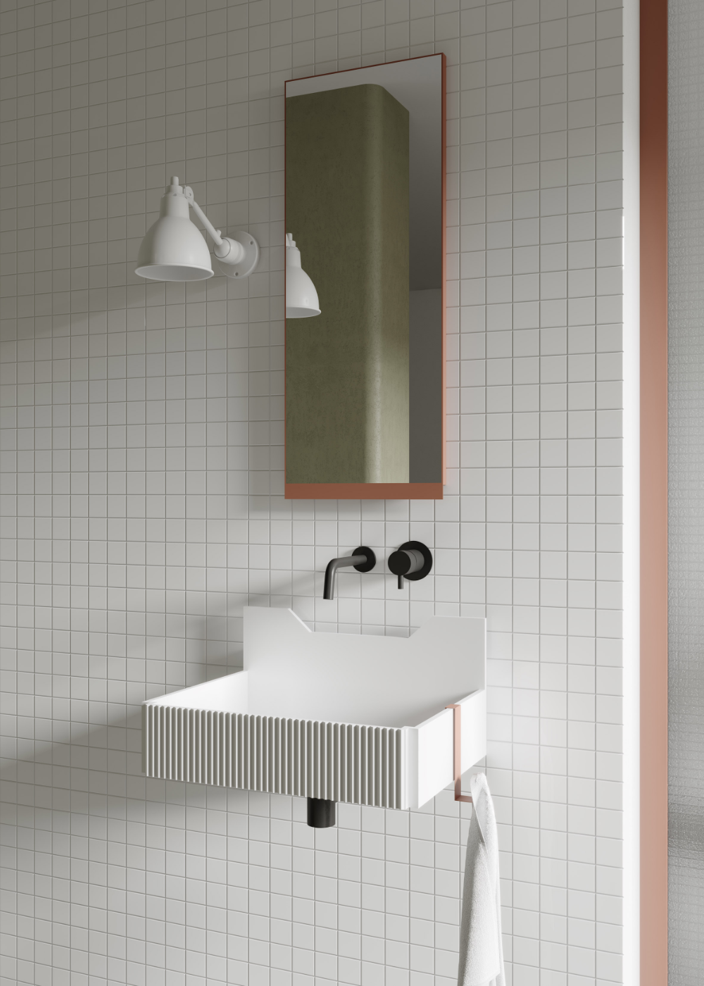 Photo of Marcante Testa brings colour and geometry to the bathroom for Ex.t – Mobel Deko Ideen
