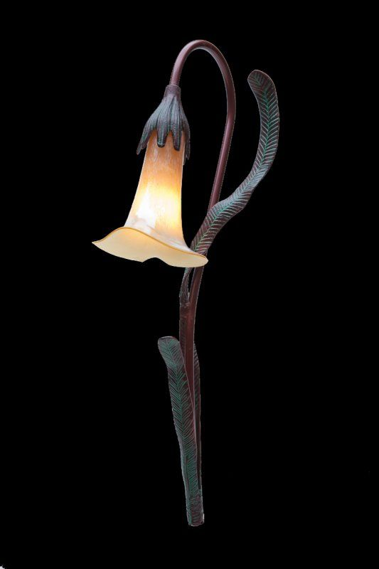 Burmese Calla Lily Landscape Lighting By Stone Manor
