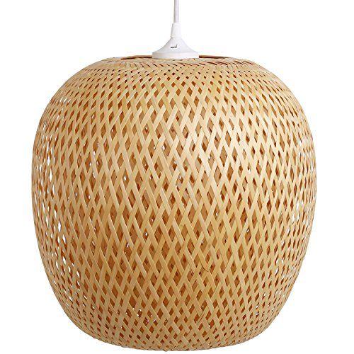 Bambuslampe Ha Long, Lampe Aus Bambus Als Hängelampe, Innenbeleuchtung Und  Raumbeleuchtung Für Wohnzimmer Kinderzimmer