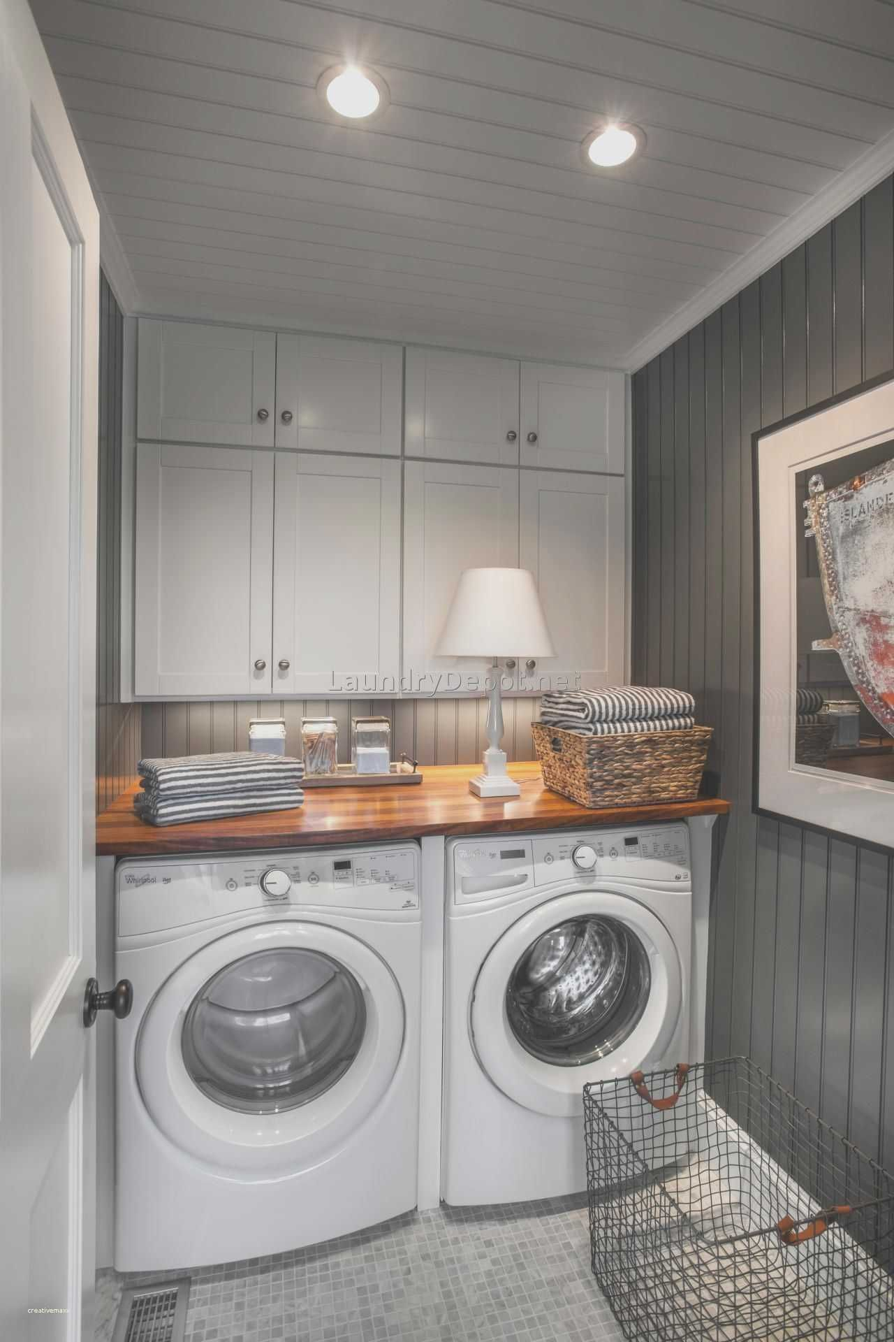 Laundry Room Ideas Small Stackable Closet