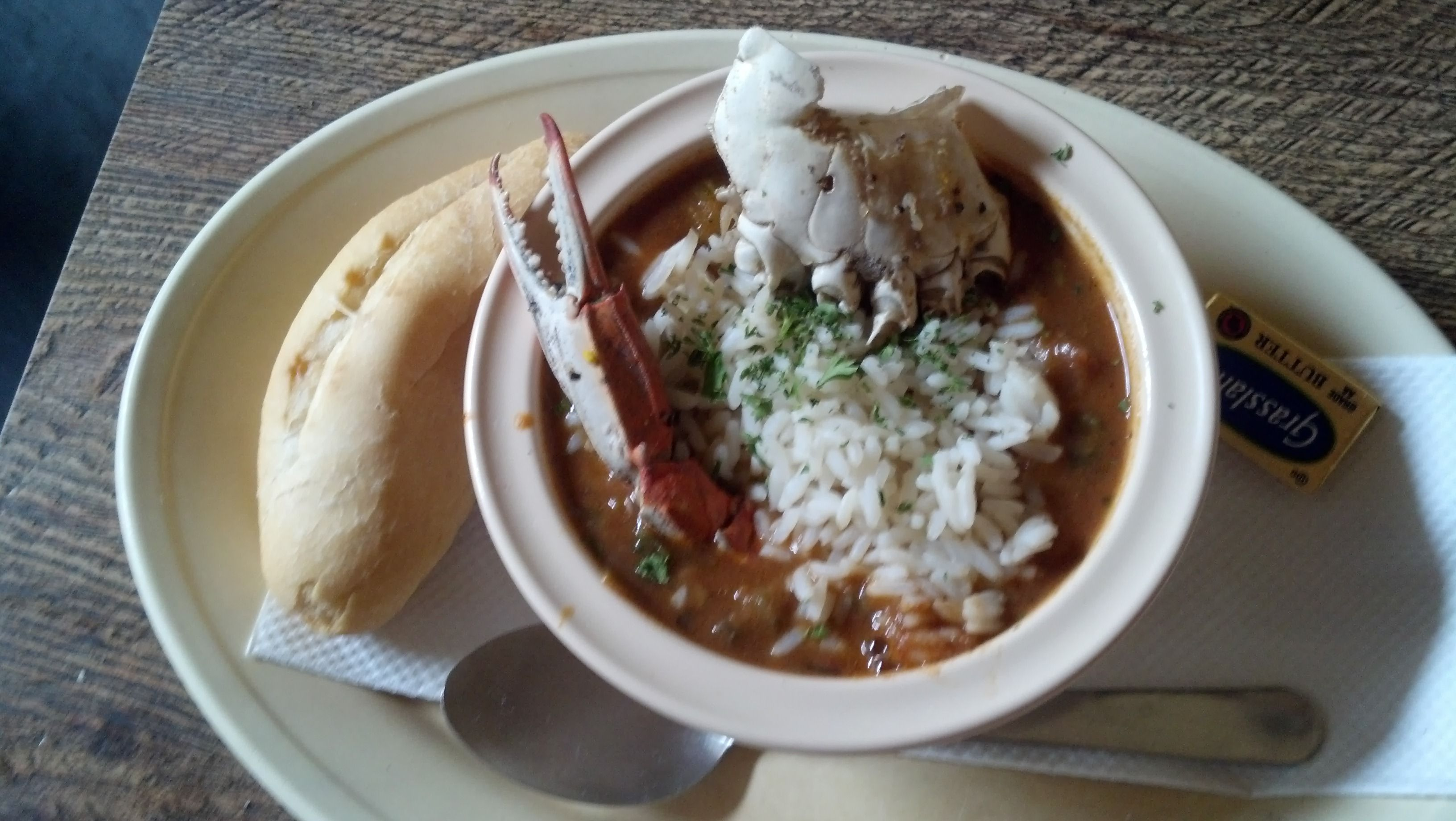 Seafood Gumbo Napoleon House New Orleans Food Seafood Gumbo Food Pictures