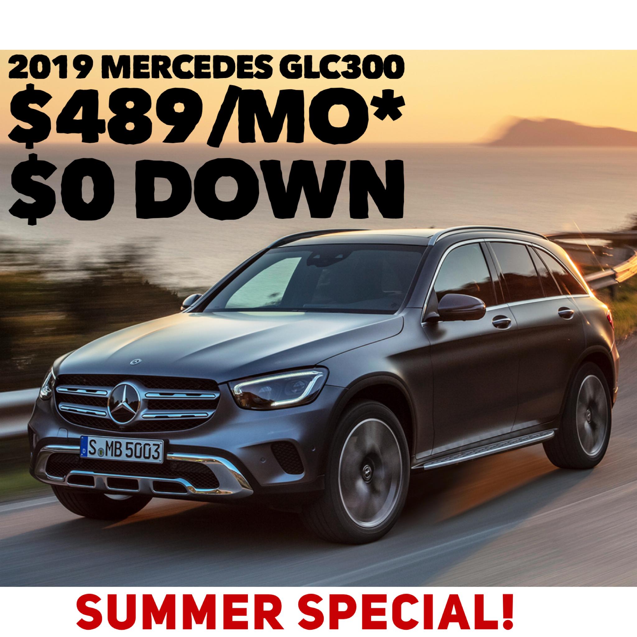 Summer Special 2019 Mercedes Benz Glc300 Mercedes Benz Mercedes Benz