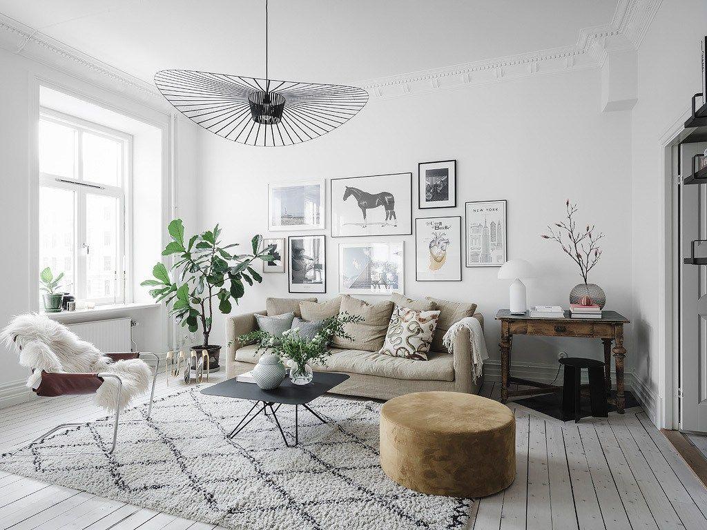 Stylish and spacious living area home hogar for Decoracion de casas acogedoras