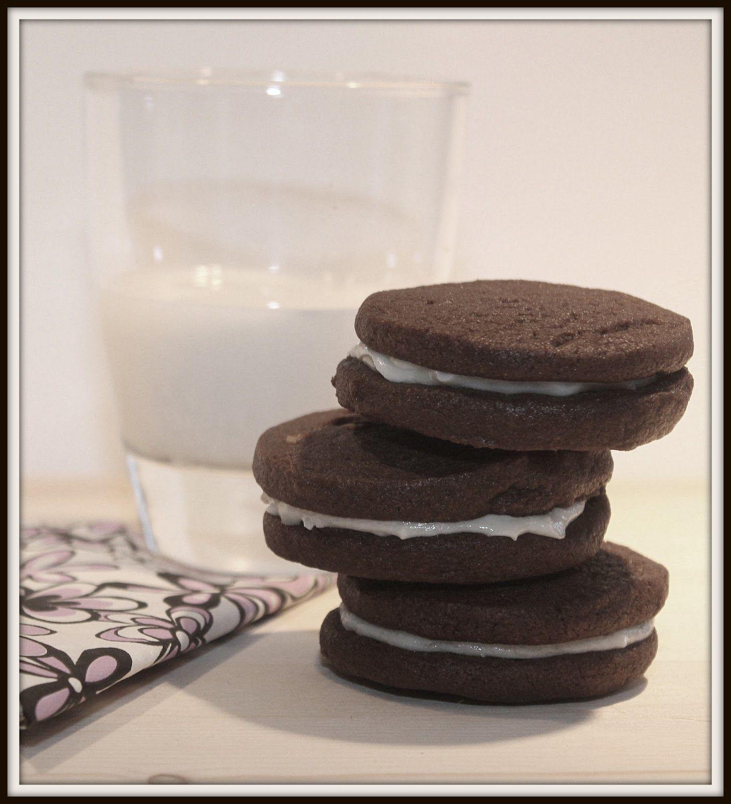 Cinq Fourchettes etc.: Biscuits Oreo maison