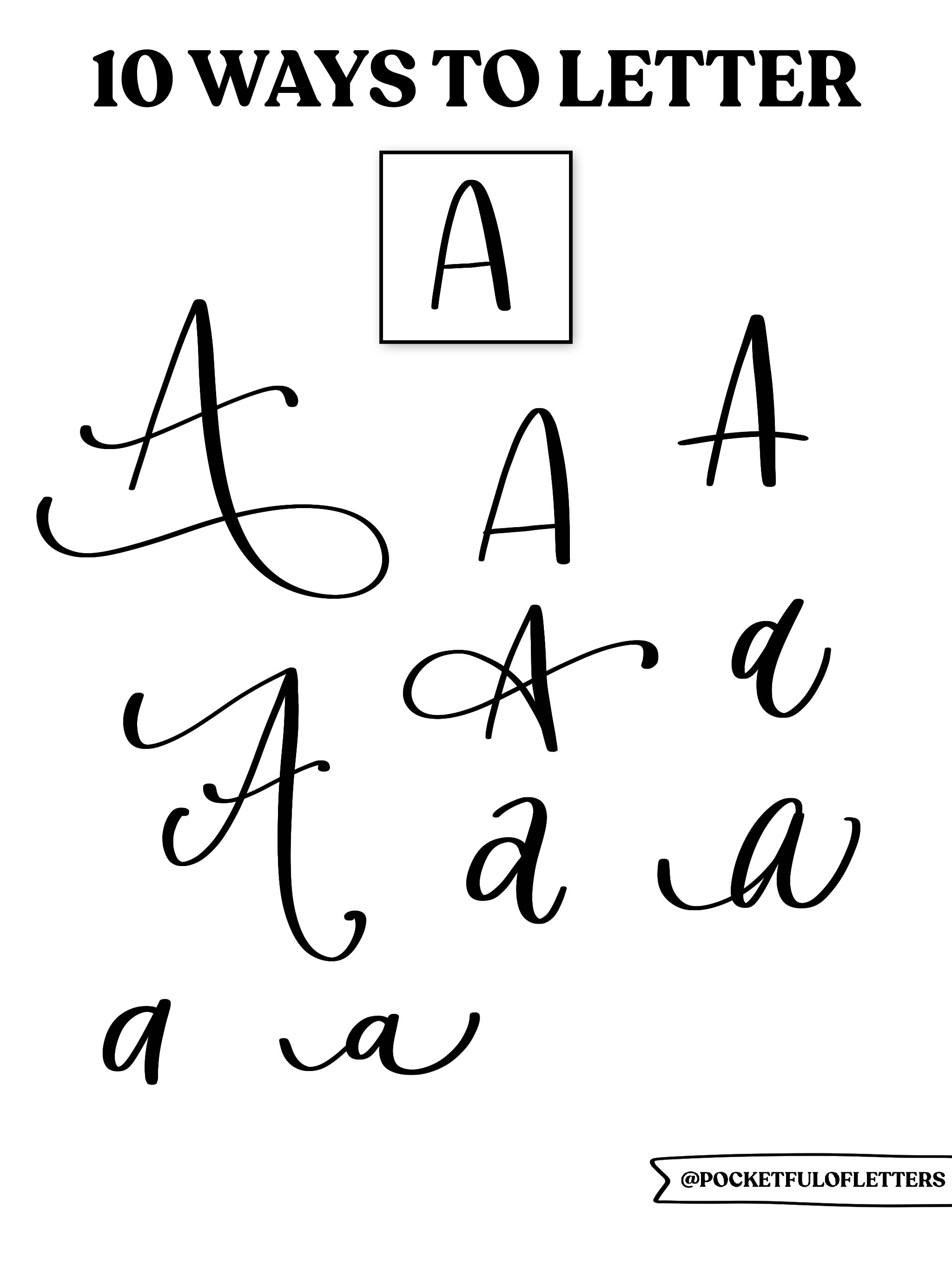 How To Letter