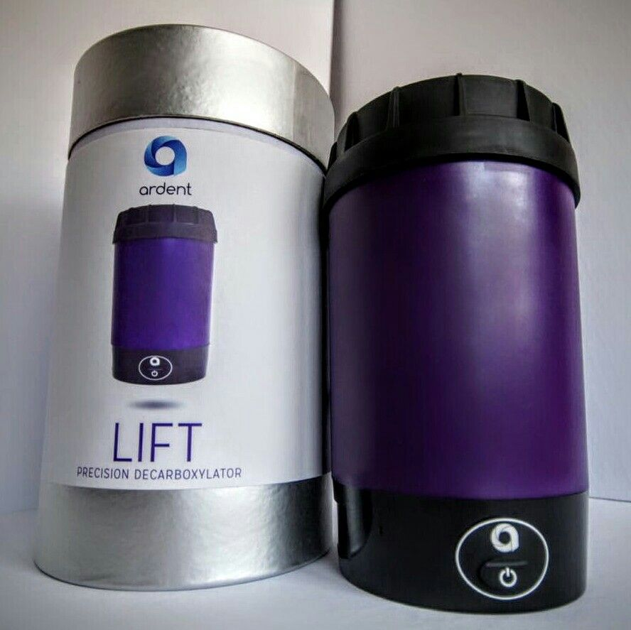 The Lift decarboxylation unit, newly unboxed  Love the packaging