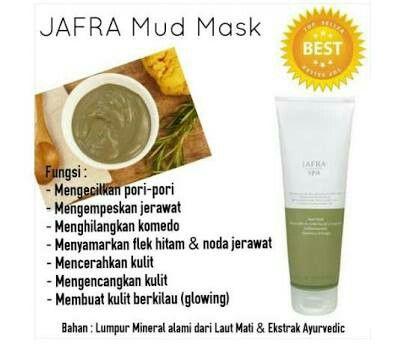 Review Jafra Mud Mask Untuk Bekas Jerawat