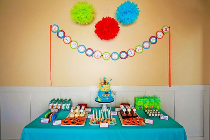 Little Monster First Birthday Party