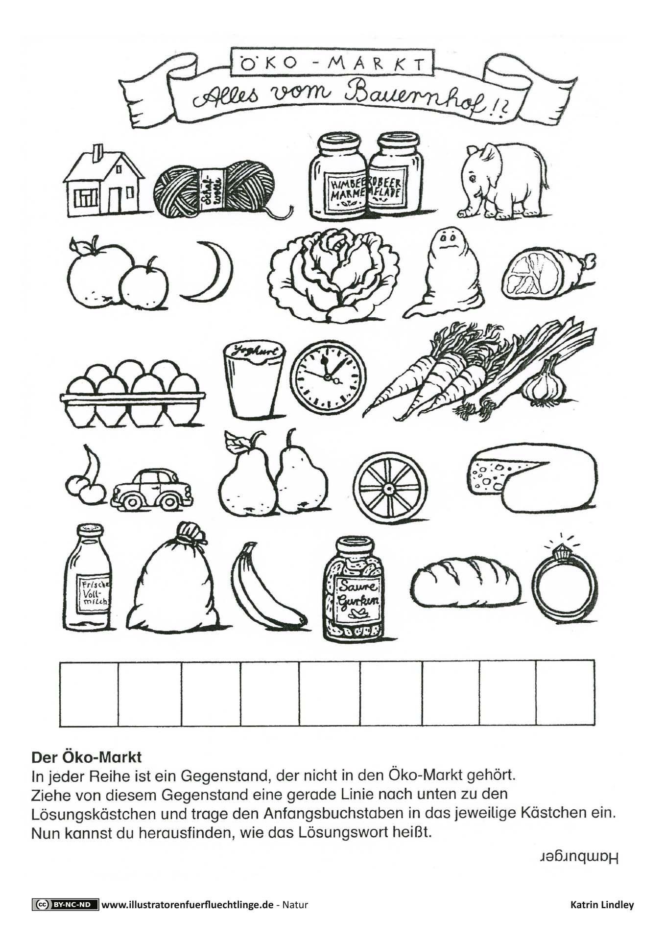 bauernhof hofladen markt r tsel kiga hofladen hof und bauern. Black Bedroom Furniture Sets. Home Design Ideas