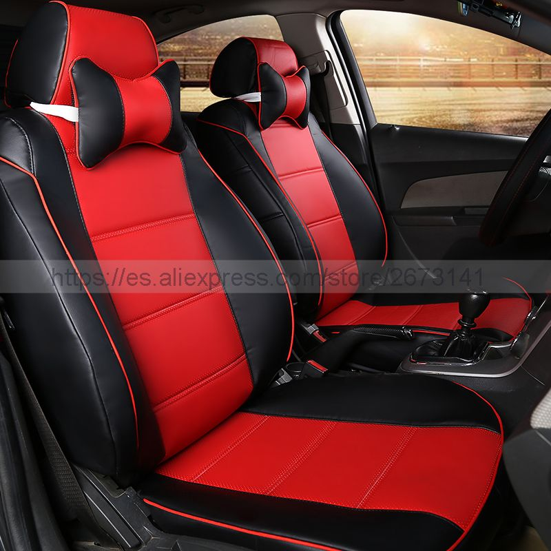 New Styling Luxury Dedicated Leather Car Seat Cover Front Rear Seat Covers For Geely Ec7 X7 Ec8 Ck Eng Leather Car Seat Covers Car Seats Interior Accessories
